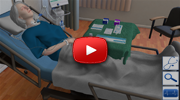 Trachesotomy Suctioning & Care - Interactive Virtual Procedure Simulation